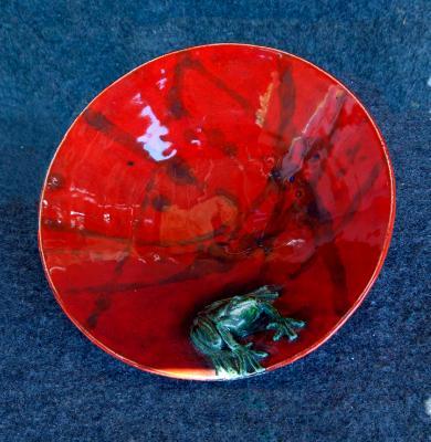 Fancy Frog Dish